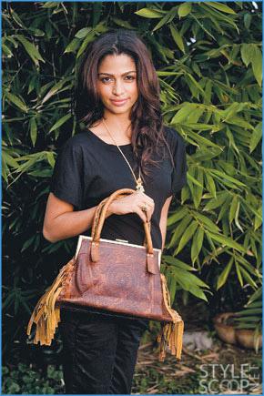 Camila Alves Starts HandbagLine
