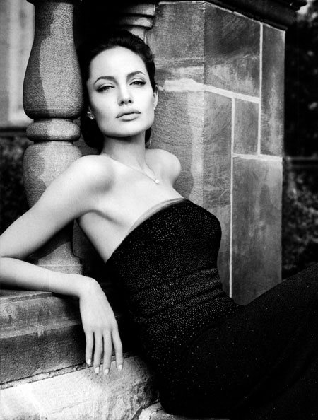 Angelina Jolie for ST John advertisements