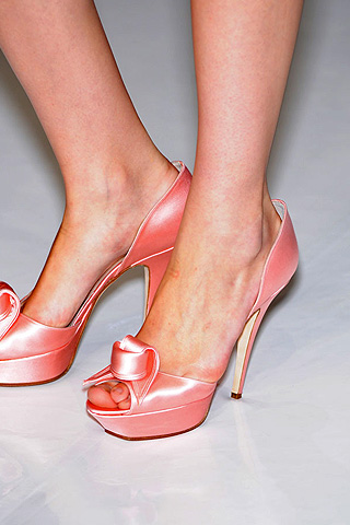 Jenny Packham's Spring 2009 Shoes are Bubblicious