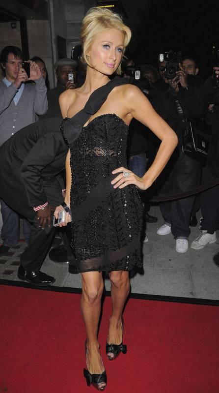Paris Hilton the cuckoo