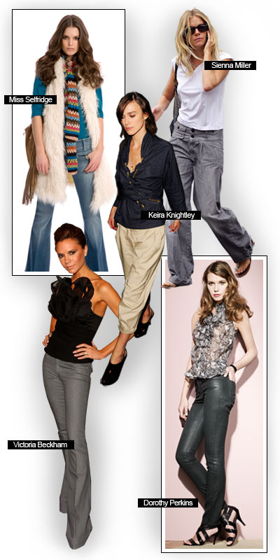 Trousers – Autumn/Winter trends 2008 – 2009