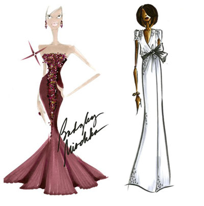 badgey-mishka-diana-von-furstenberg-gown-sketches-for-michelle-obama-for-inauguration-ball