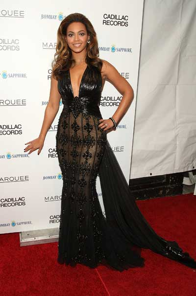 Beyonce Knowles Cadillac Records premiere in NY