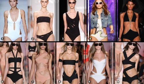 cut away bikini trend2009