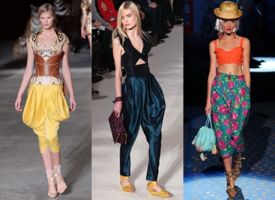 hareem pants spring 2009 trends