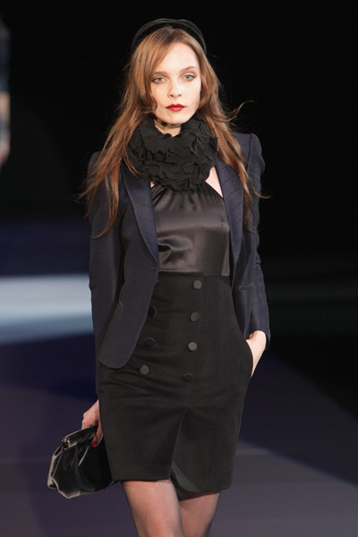 Black Fashion Trends on Wearable Fashion Trend For Fall  Winter 2009 2010     Black Color