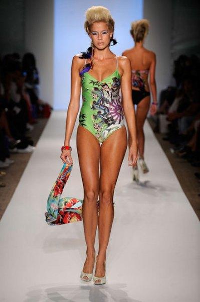 miami fashion week swim ed hardy summer 2010 collection