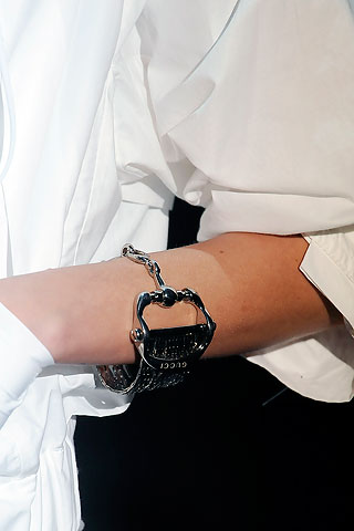 jewelry trends spring 2010: Gucci bangles