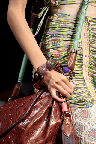 Louis Vuitton jewelry trends spring 2010