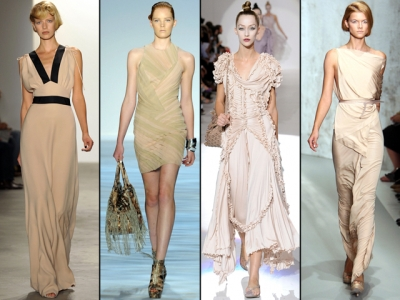 Neutrals Fashion Trends Spring 2010