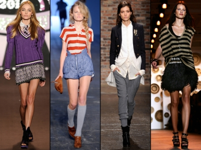 School Spirit Trends Fashion Spring-Summer 2010