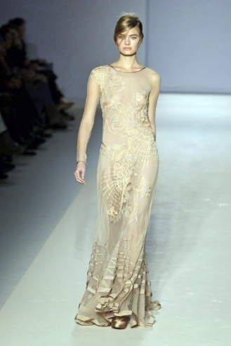 Alberta Ferretti long gown Fall 2010-winter 2011