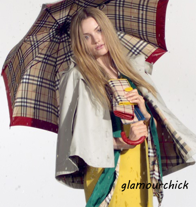 burberry APRIL SHOWERS spring 2010