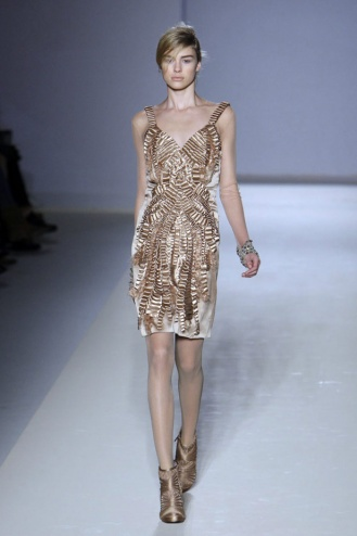 Alberta Ferretti cocktail dress Fall 2010-winter 2011
