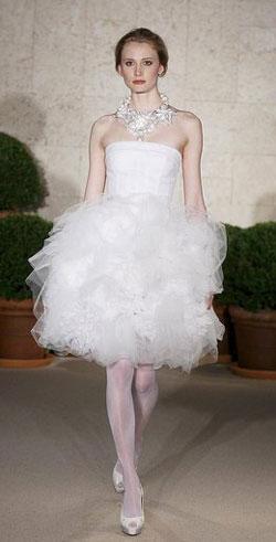 Oscar de la Renta Bridal Collection spring 2011