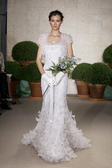 Oscar de la Renta Bridal gowns spring 2011