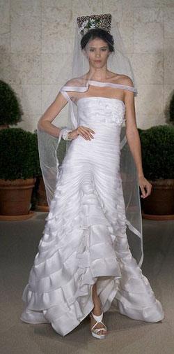 Oscar de la Renta Bridal trends spring 2011