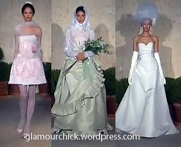 Oscar de la Renta wedding dress Spring 2011