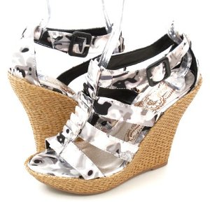 Qupid Ceduce193 Wedges Black
