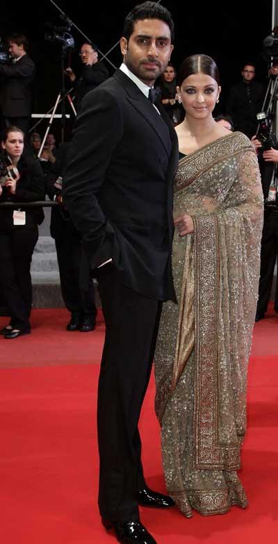 aishwarya rai and abhishek bachchan outrage premiere cannes 2010