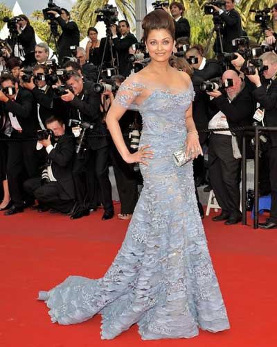 aishwarya rai cannes fashion 2010