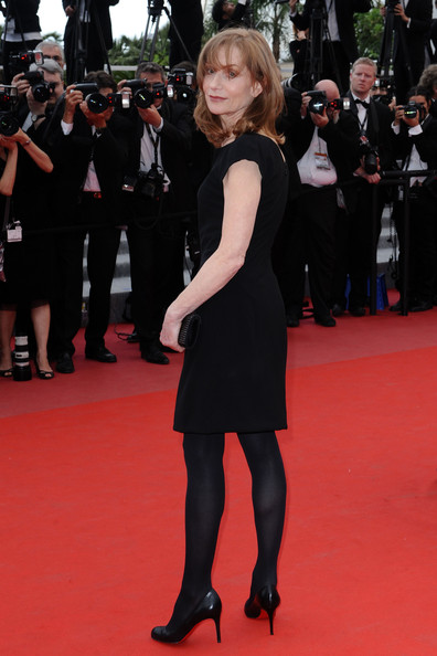 Isabelle Huppert cannes 2010