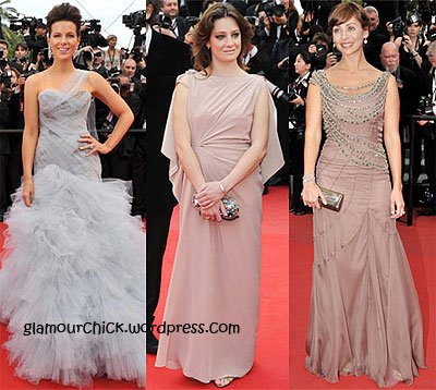 Kate Beckinsale and Giovanna Mezzogiorno and Natalie Imbruglia Cannes 2010