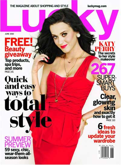 Katy Perry Covers 'Lucky' June 2010