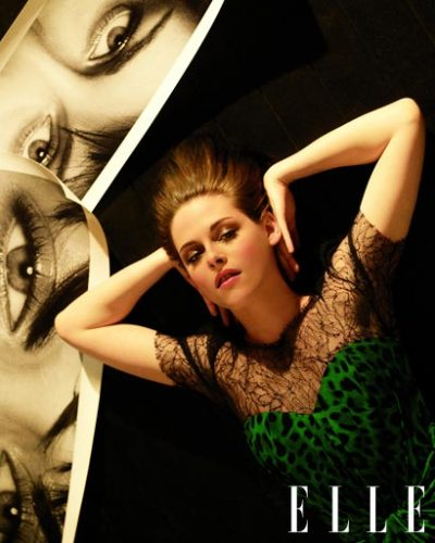 Kristen Stewart Does Elle June 2010
