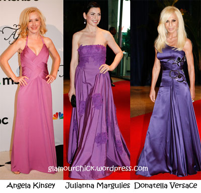 lilac fashion White House Correspondents Dinner 2010