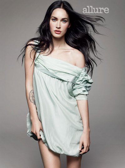 megan fox allure magazine 2010 shoot