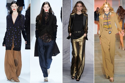 wide trousers fall 2010 fashion trends