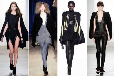 Capes & Ponchos autum 2010 fashion trends