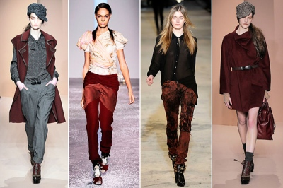 ox blood fall 2010 trends