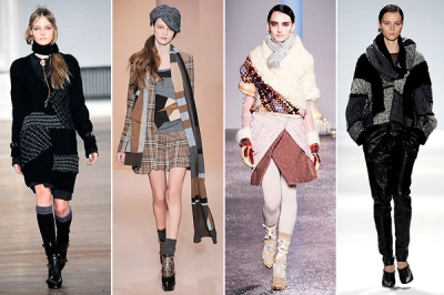 fall 2010 trends patchwork