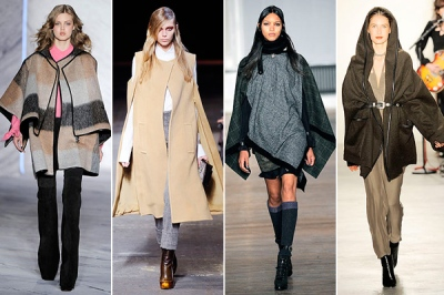 ponchos fall 2010 trends