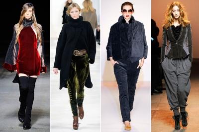 velvet fall 2010 trends